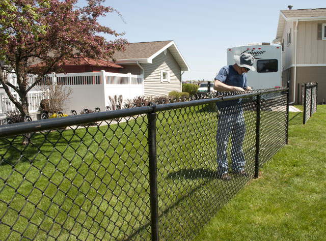 Vinyl Coated Fence Panels For Best Chain Link Fencing