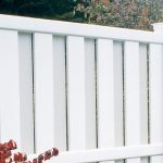 semi private vinyl fence panels