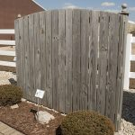 Semi Private Wood Fence