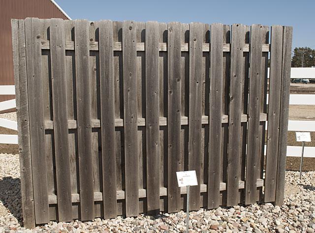 Shadowbox Fences By 1 Wood Fence Contractor In Escanaba Mi