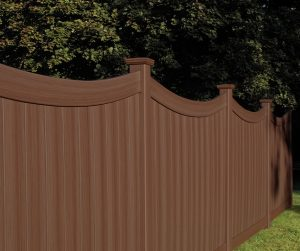 Chesterfield fence CertaGrain Texture Concave