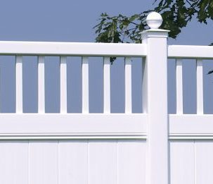 Galveston with Victorian Accent fence