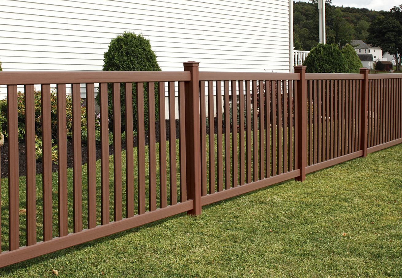 Baron Vinyl Fence   Contemporary Fencing Solutions For Yard & Pool