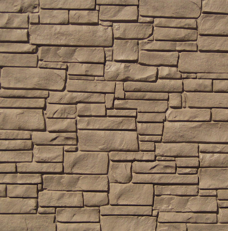 Brown Granite Fence