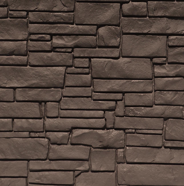 Dark Brown Granite Fence